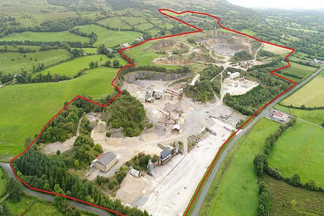 Thumbnail Land for sale in Belcoo & Cleggan Quarries, 591 Sligo Road, Belcoo, Enniskillen, County Fermanagh