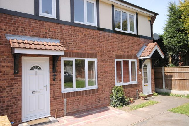 Thumbnail Terraced house to rent in Coxmoor Close, Bloxwich, Walsall