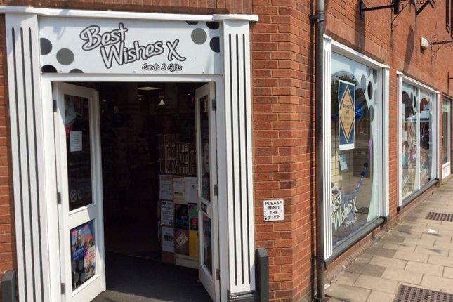 Thumbnail Retail premises for sale in Units 3 & 4 Shawcroft, Ashbourne