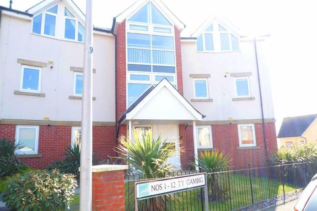 Thumbnail Flat to rent in Clos Yr Wylan, Barry