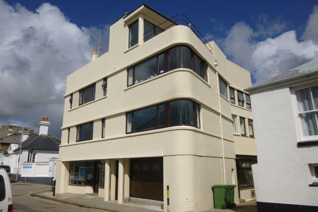 Thumbnail Flat to rent in Queen Street, Penzance