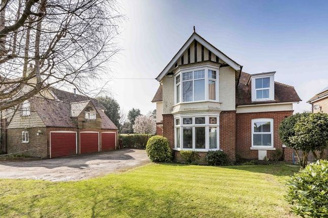 Thumbnail Detached house for sale in Castle Avenue, Havant