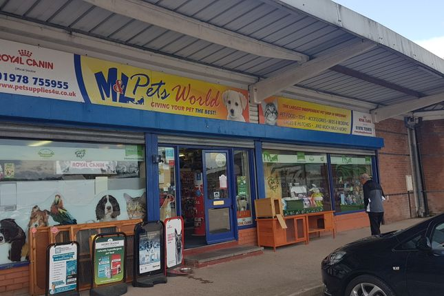 Thumbnail Retail premises for sale in Unit 12 Dodds Lane, Wrexham