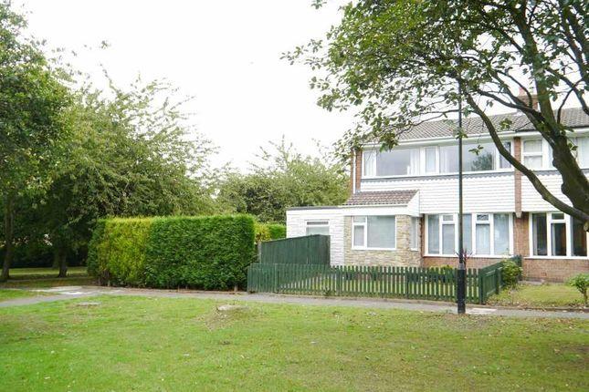 Thumbnail Semi-detached house for sale in Bedeburn Road, Westerhope, Newcastle Upon Tyne