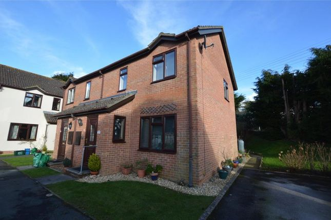 Thumbnail Semi-detached house for sale in Fairfield Gardens, Honiton, Devon