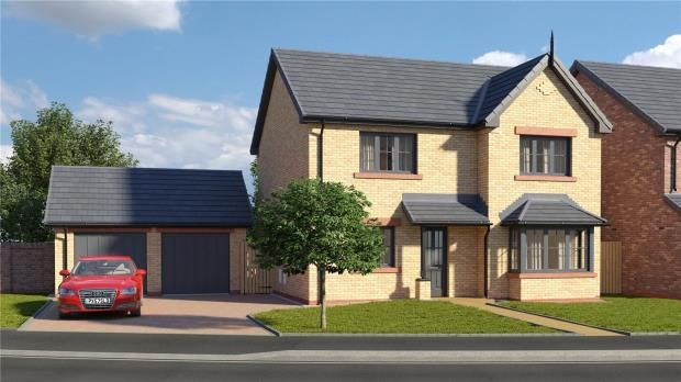 Thumbnail Detached house for sale in Plot 23 The Trent, St. Cuthberts, Off King Street, Wigton