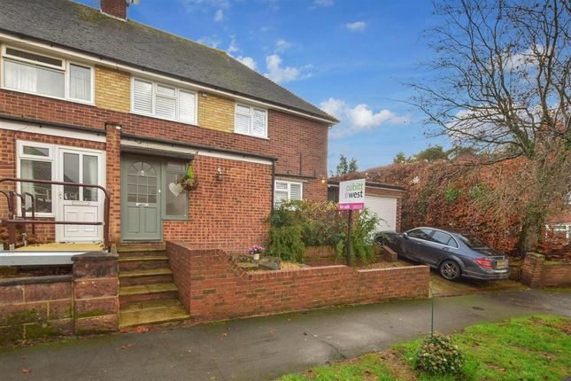 Thumbnail Semi-detached house for sale in Nursery Hill, Shamley Green, Guildford, Surrey