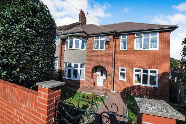Thumbnail Semi-detached house for sale in Chessel Crescent, Southampton
