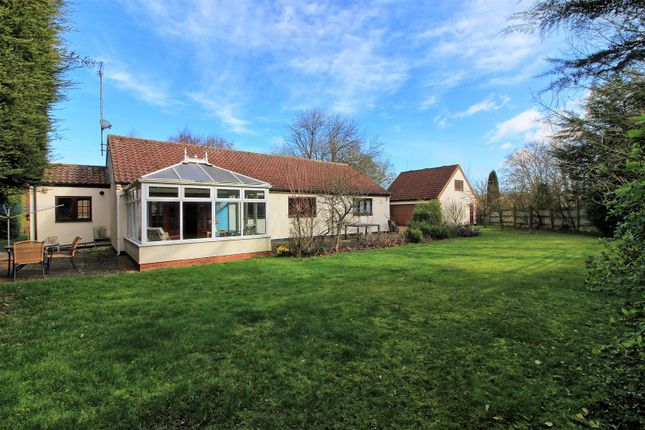 Thumbnail Detached bungalow for sale in Gas Lane, Barkway, Royston