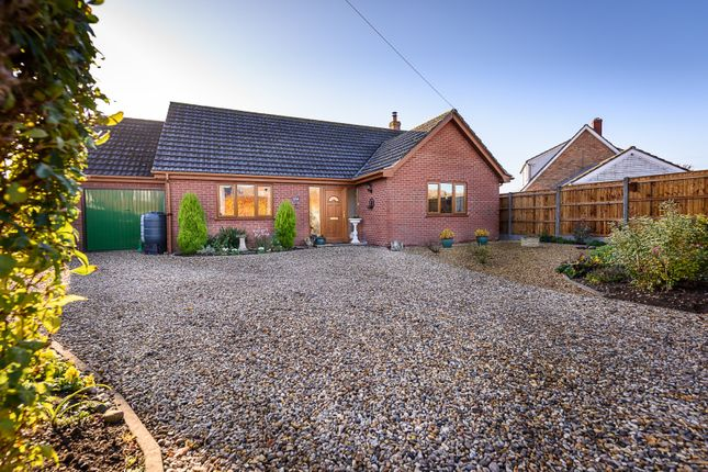 Thumbnail Detached bungalow for sale in Orchard Close, Forncett Saint Peter