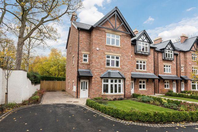 Thumbnail Semi-detached house for sale in Village Mews, Shirleys Drive, Prestbury, Macclesfield