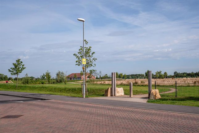 Nearby Park of Wattle Close, Sileby, Leicestershire LE12