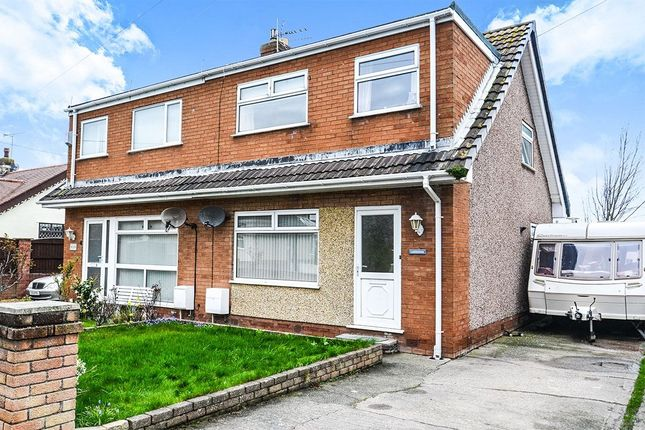Thumbnail Semi-detached house for sale in Kinmel Way, Towyn, Abergele