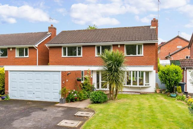 Thumbnail Detached house for sale in Kenton Drive, Shrewsbury