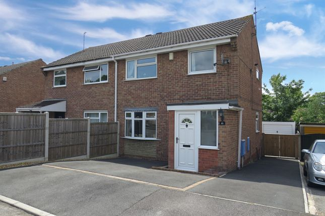 Thumbnail Semi-detached house for sale in Westmorland Way, Jacksdale, Nottingham