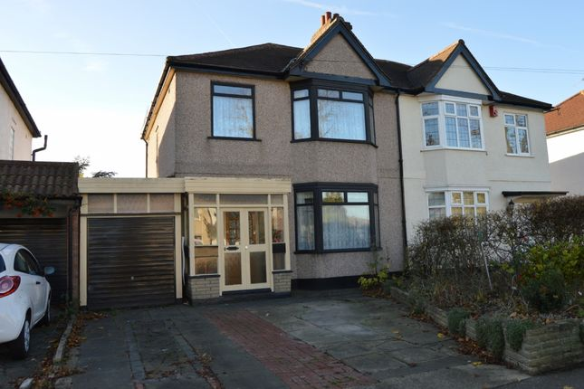 Thumbnail Semi-detached house for sale in Osborne Road, Hornchurch