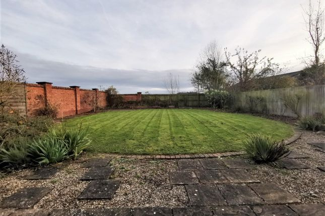Garden of Clive Green Lane, Stanthorne, Middlewich CW10