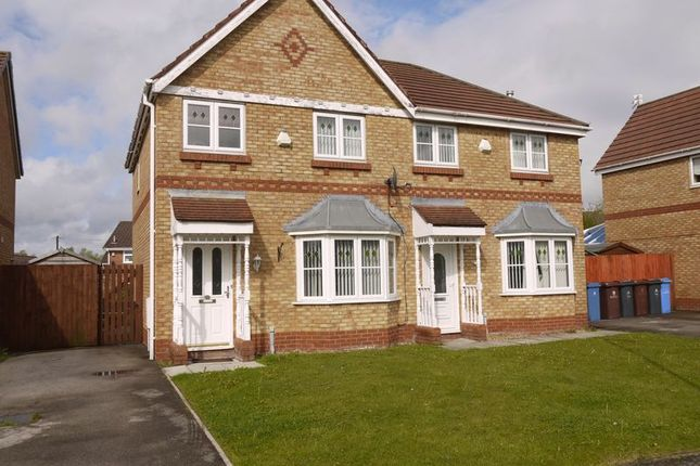 Thumbnail Semi-detached house to rent in Penda Drive, Kirkby, Liverpool