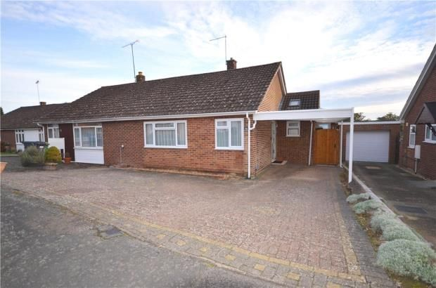Thumbnail Semi-detached bungalow for sale in Robins Bow, Camberley, Surrey