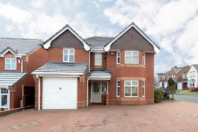 Thumbnail Detached house for sale in Arlington Way, Meir Park, Stoke-On-Trent