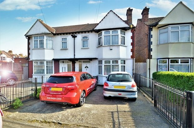 Thumbnail Semi-detached house to rent in Union Road, Wembley, Greater London