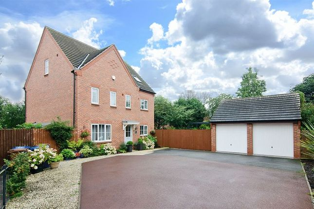 Thumbnail Detached house to rent in Barlow Drive, Fradley, Lichfield