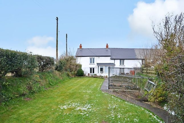 Thumbnail Semi-detached house for sale in Penstraze, Three Burrows, Blackwater, Truro