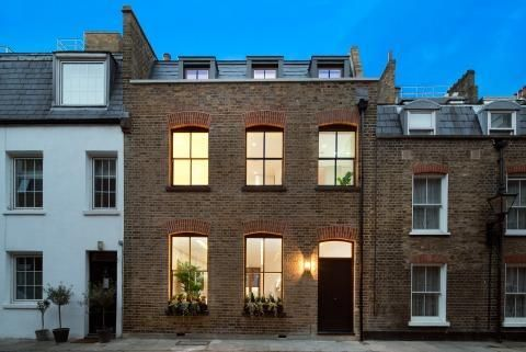 Thumbnail Town house to rent in Marylebone, London