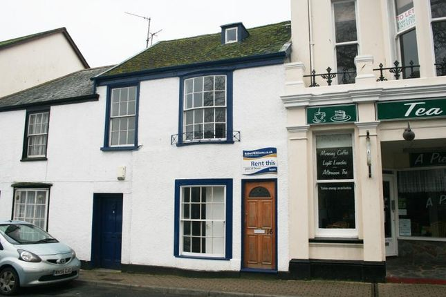Thumbnail Terraced house to rent in Brunswick Place, Dawlish