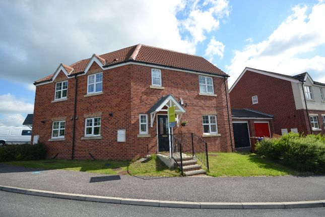 Thumbnail Semi-detached house to rent in Cudworth View, Grimethorpe
