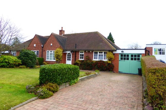 Thumbnail Semi-detached bungalow for sale in Green Meadow Road, Birmingham