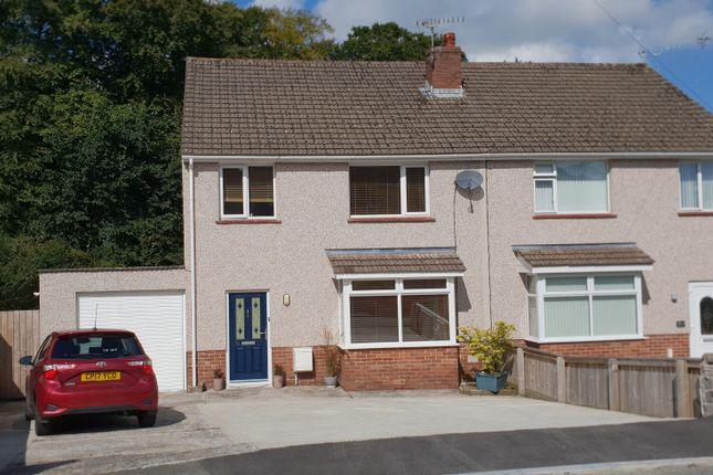 Thumbnail Semi-detached house for sale in Woodlands Park, Merlins Bridge, Haverfordwest