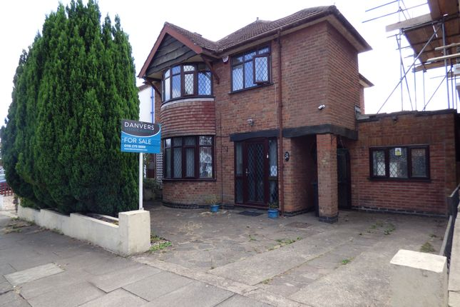 Thumbnail Detached house for sale in Woodnewton Drive, Evington, Leicester