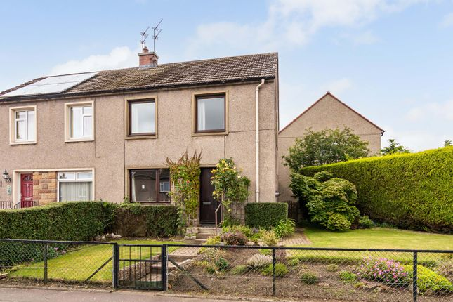 Thumbnail Semi-detached house for sale in Pentland View Crescent, Roslin