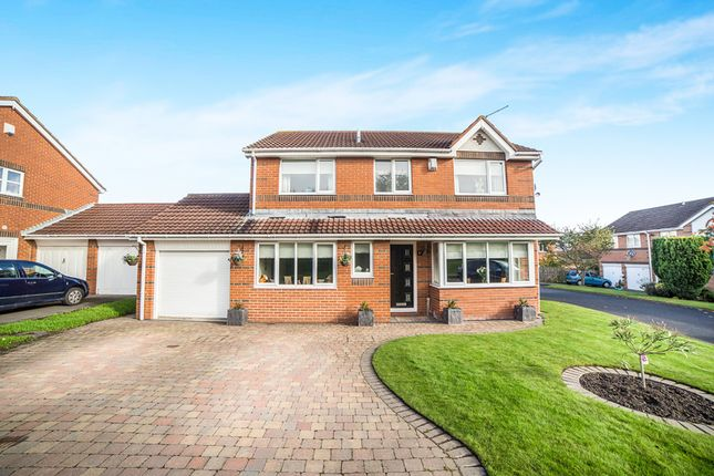 Thumbnail Detached house for sale in Cheadle Avenue, Cramlington