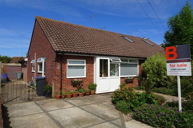 Thumbnail Semi-detached bungalow for sale in Twyford Road, Worthing