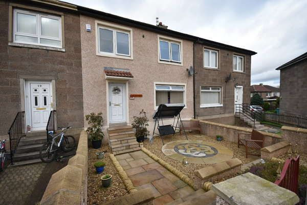 Thumbnail Terraced house for sale in 21 Coursington Crescent, Motherwell