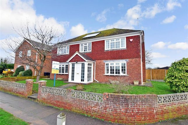 Thumbnail Detached house for sale in Pilgrims Way, Canterbury, Kent