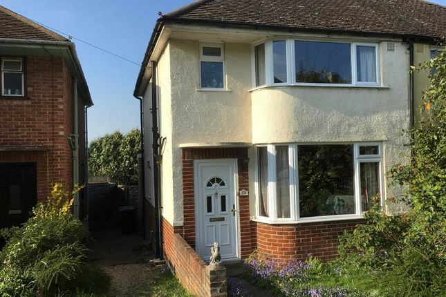Thumbnail Semi-detached house for sale in Hawthorn Close, Botley, Oxford