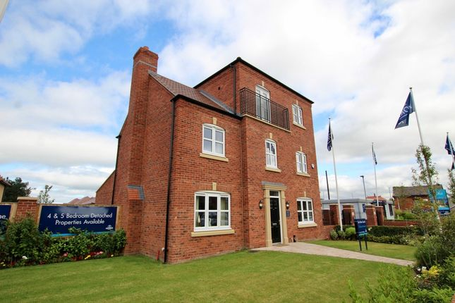 Thumbnail Detached house for sale in Hall Road West, Liverpool