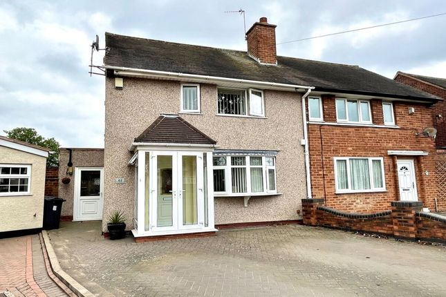 Thumbnail Semi-detached house for sale in Brownfield Road, Shard End, Birmingham