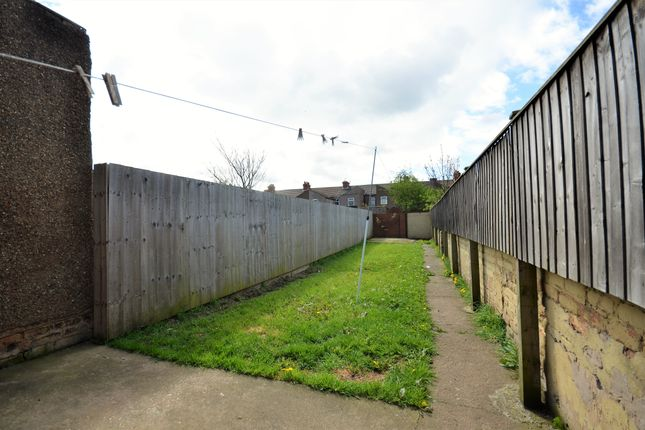 Rear Garden of Tunnard Street, Grimsby DN32