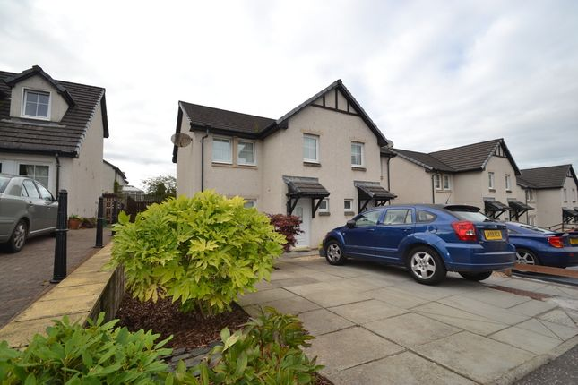 Thumbnail Semi-detached house to rent in Thornycroft Terrace, Plean, Stirling