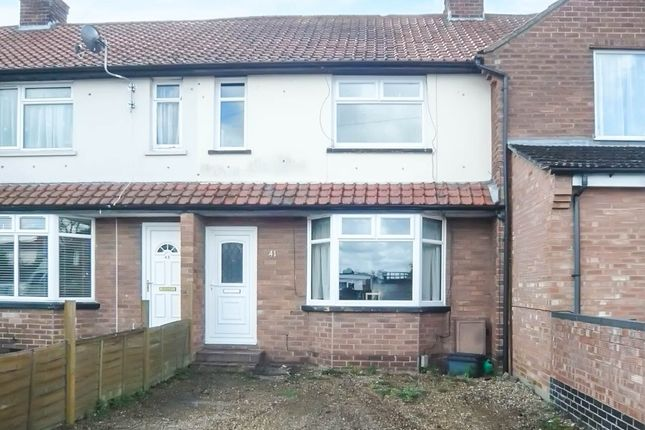 Thumbnail Terraced house for sale in Cromwell Road, Sprowston, Norwich