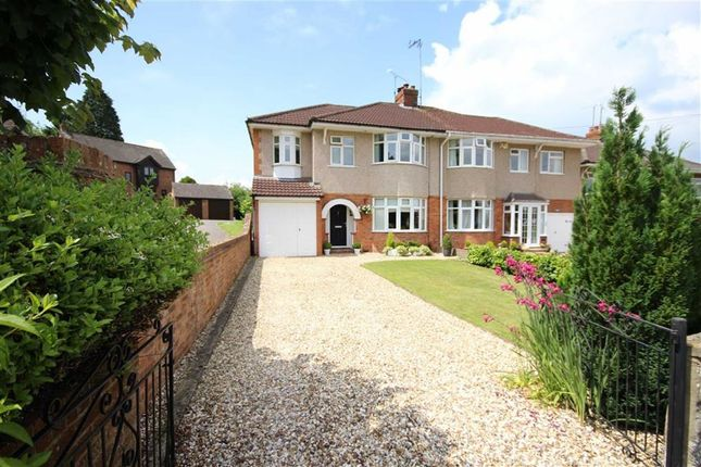 Thumbnail Semi-detached house for sale in Hillside Avenue, Old Town, Swindon