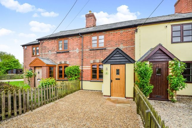 2 bed terraced house for sale in Pentlow, Sudbury, Suffolk