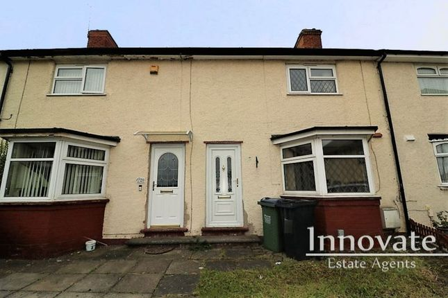 Thumbnail Terraced house for sale in Milton Road, Smethwick