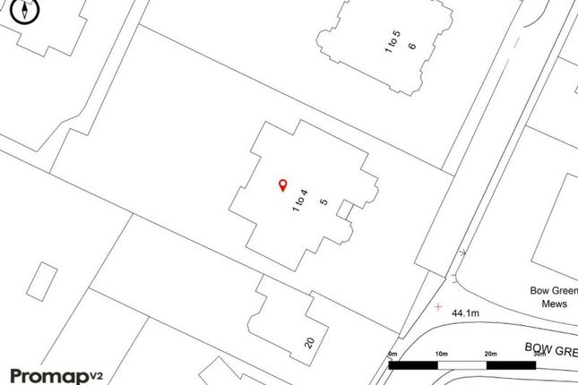 Site Plan of The Springs, Bowdon, Altrincham WA14