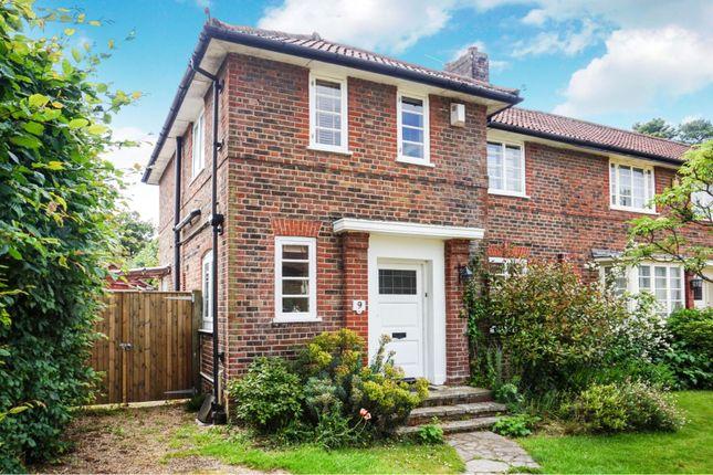 Thumbnail End terrace house for sale in Field Close Bassett Green, Southampton
