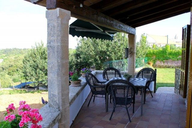Covered Terrace of Spain, Mallorca, Campanet